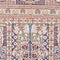 Oriental Turkistan 100% Silk Persian Rug, Red/Beige
