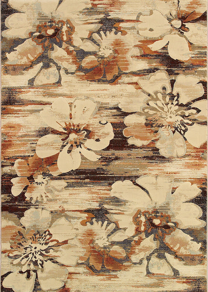 Couristan Easton Mosaic Florals Area Rug