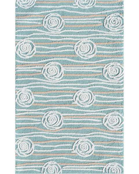 The Rug Market Rosalita Teal 71131 Area Rug