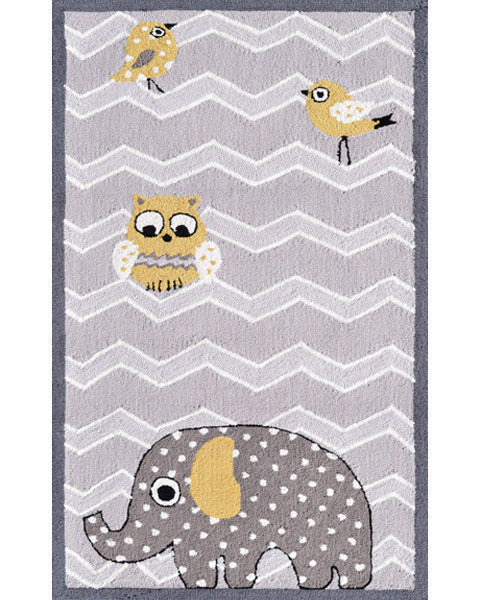 The Rug Market Eleph & Bird 71166 Area Rug