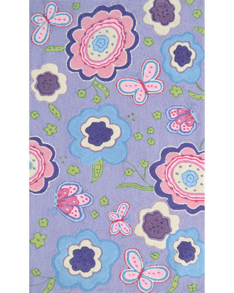 The Rug Market Purple Spring Time 71178 Area Rug