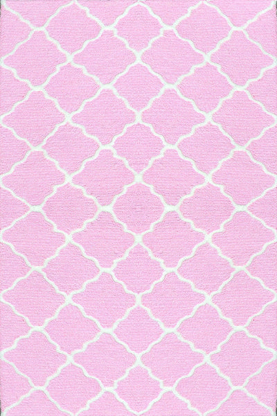 The Rug Market Lattice Pink 71202 Area Rug