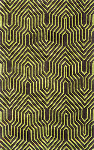 The Rug Market Surge Lime 72269 Area Rug
