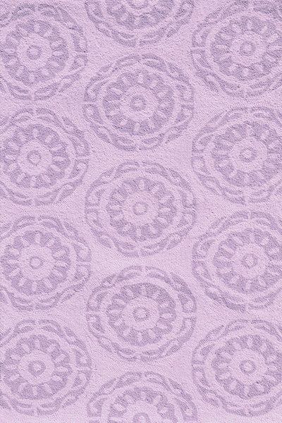 The Rug Market Twirl Lilac 74073 Area Rug