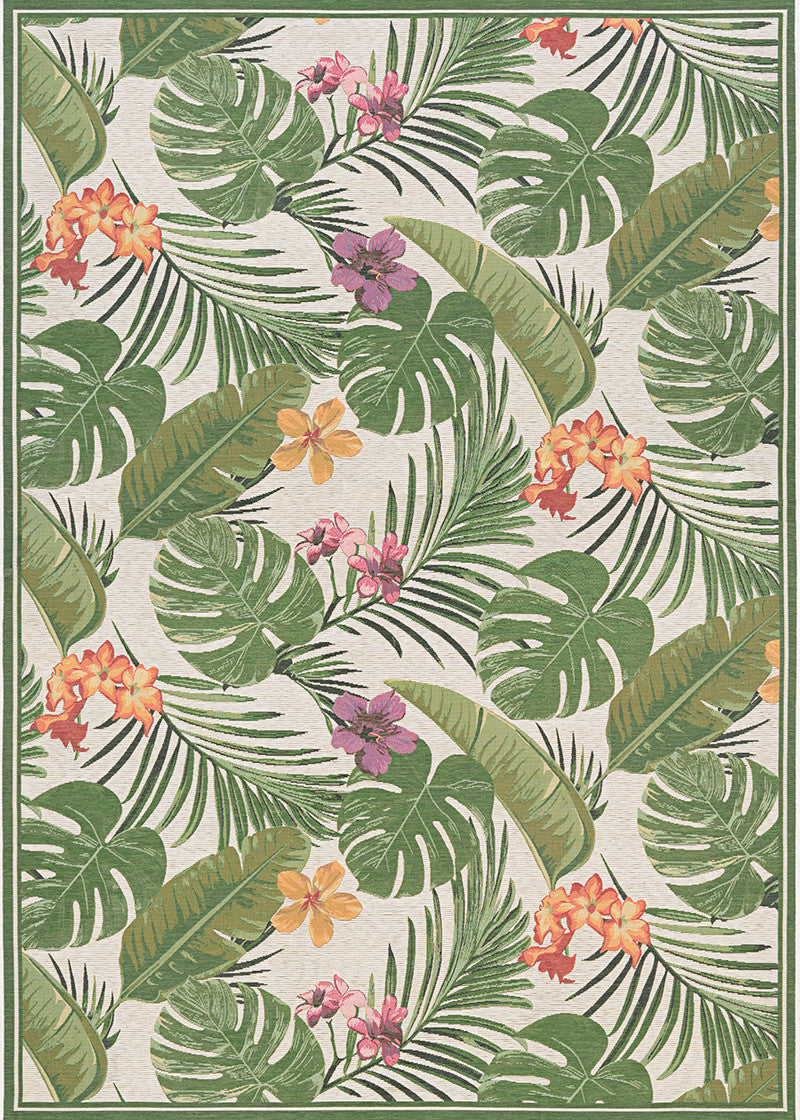 Couristan Dolce Flowering Fern Area Rug