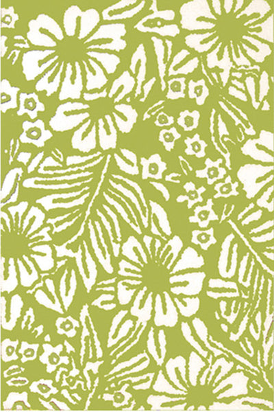 The Rug Market 3-Botanica Lime 75072 Area Rug