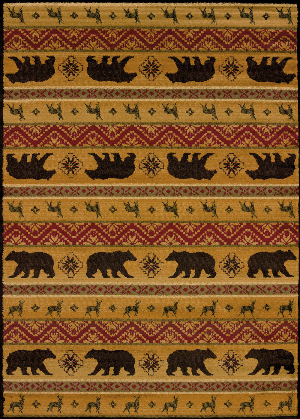 United Weaver Affinity Nordic Bear Area Rug