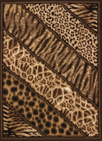 United Weaver Legends Slanted Safari Area Rug