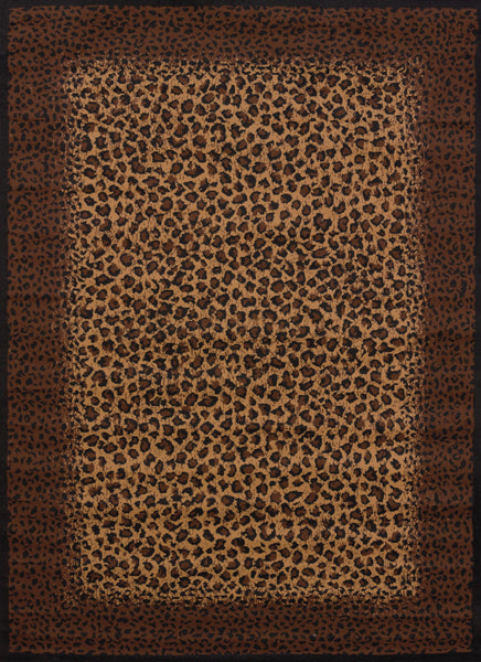 United Weaver Legends Leopard Skin Area Rug