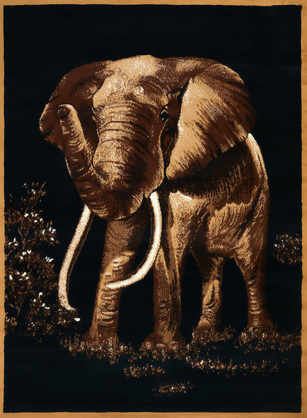United Weaver Legends Elephant Area Rug