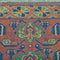 Vintage Persian Rug Baluchi Runner Rug , Brown Green 3' x 9'