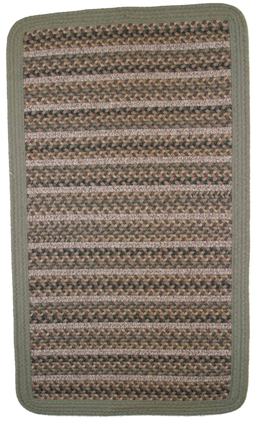 Thorndike Mills Beantown Boston Garden Green Area Rug