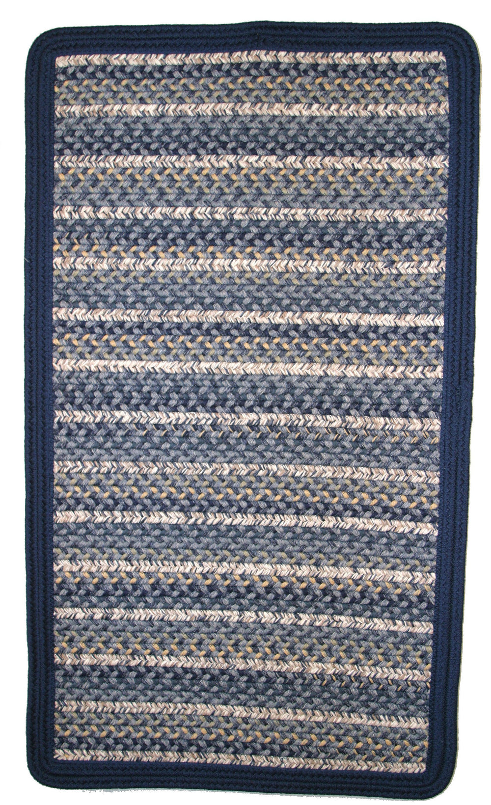 Thorndike Mills Beantown Charles River Blue Area Rug
