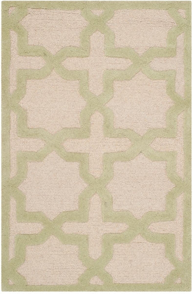 Safavieh Cambridge CAM125N Ivory / Light Green Rug