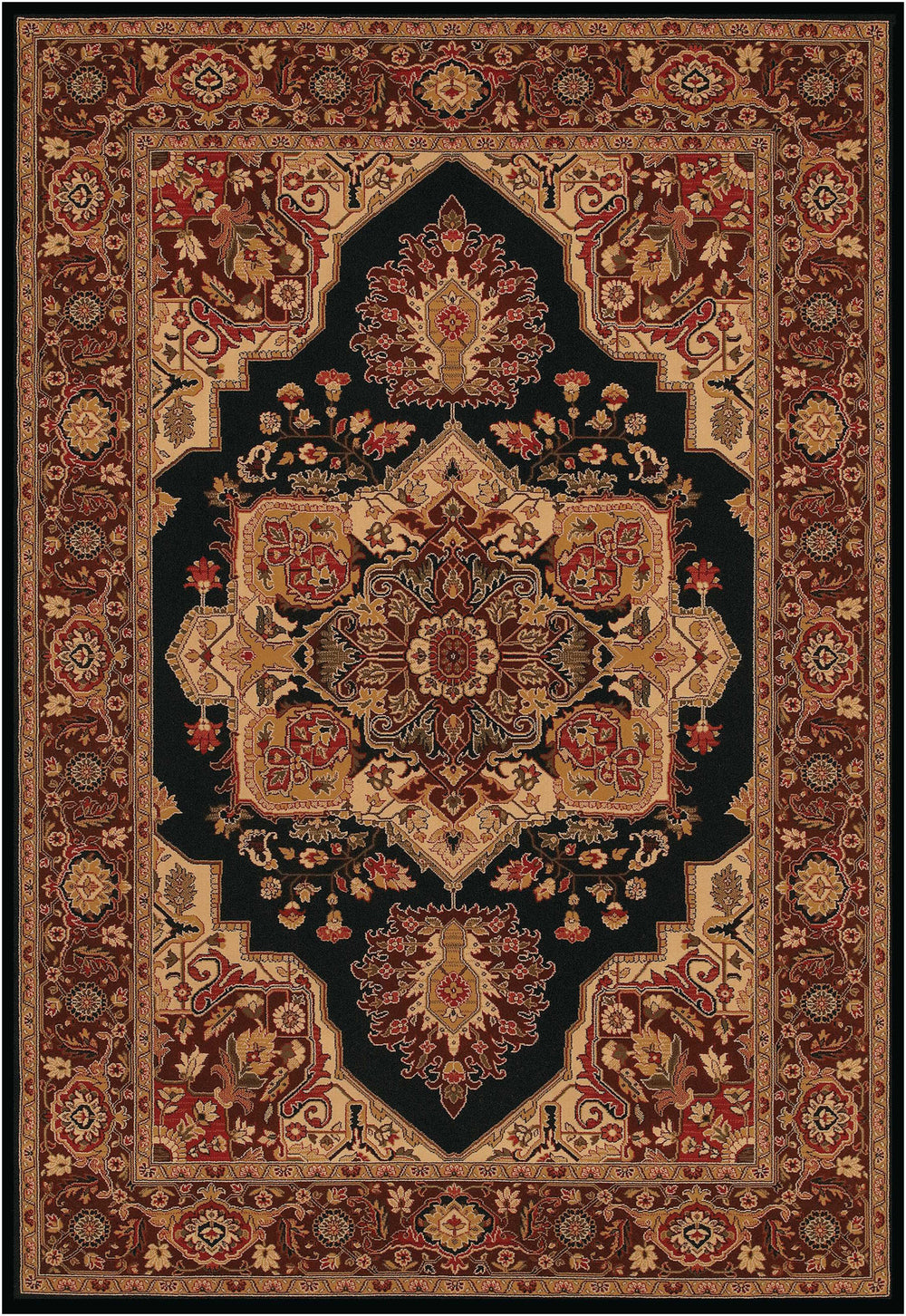 Couristan Everest Antique Sarouk Area Rug