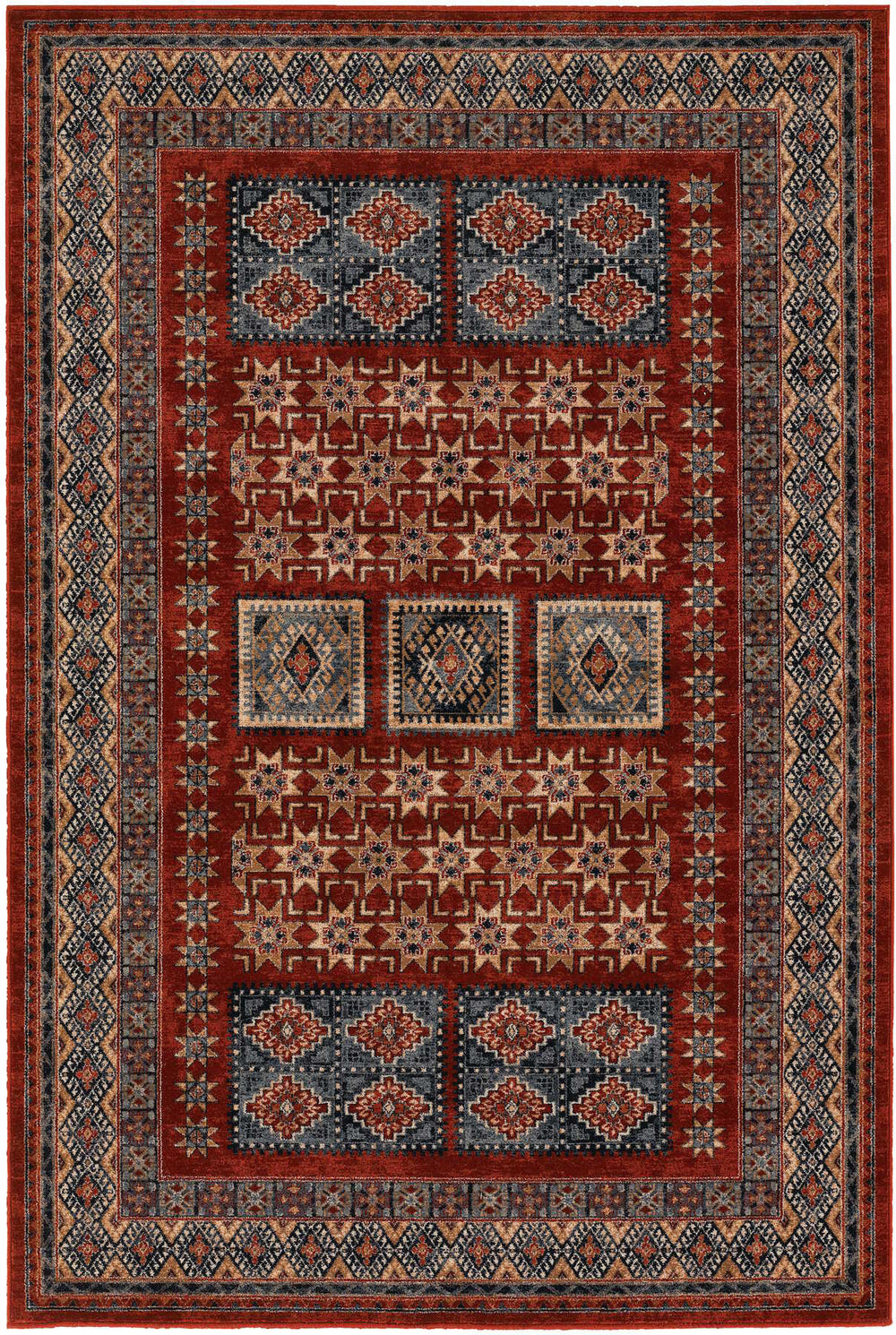 Couristan Timeless Treasures Royal Kazak Area Rug