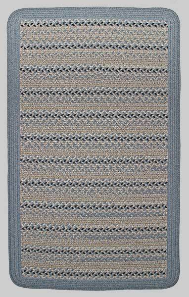 Thorndike Mills Edgartown Harbor Blue w/Wedgewood #746 Area Rug