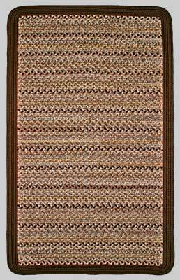 Thorndike Mills Edgartown Sand Castle w/Medium Brown #743 Area Rug