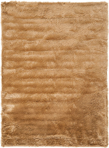 Safavieh Faux Sheep Skin FSS115E Camel Rug