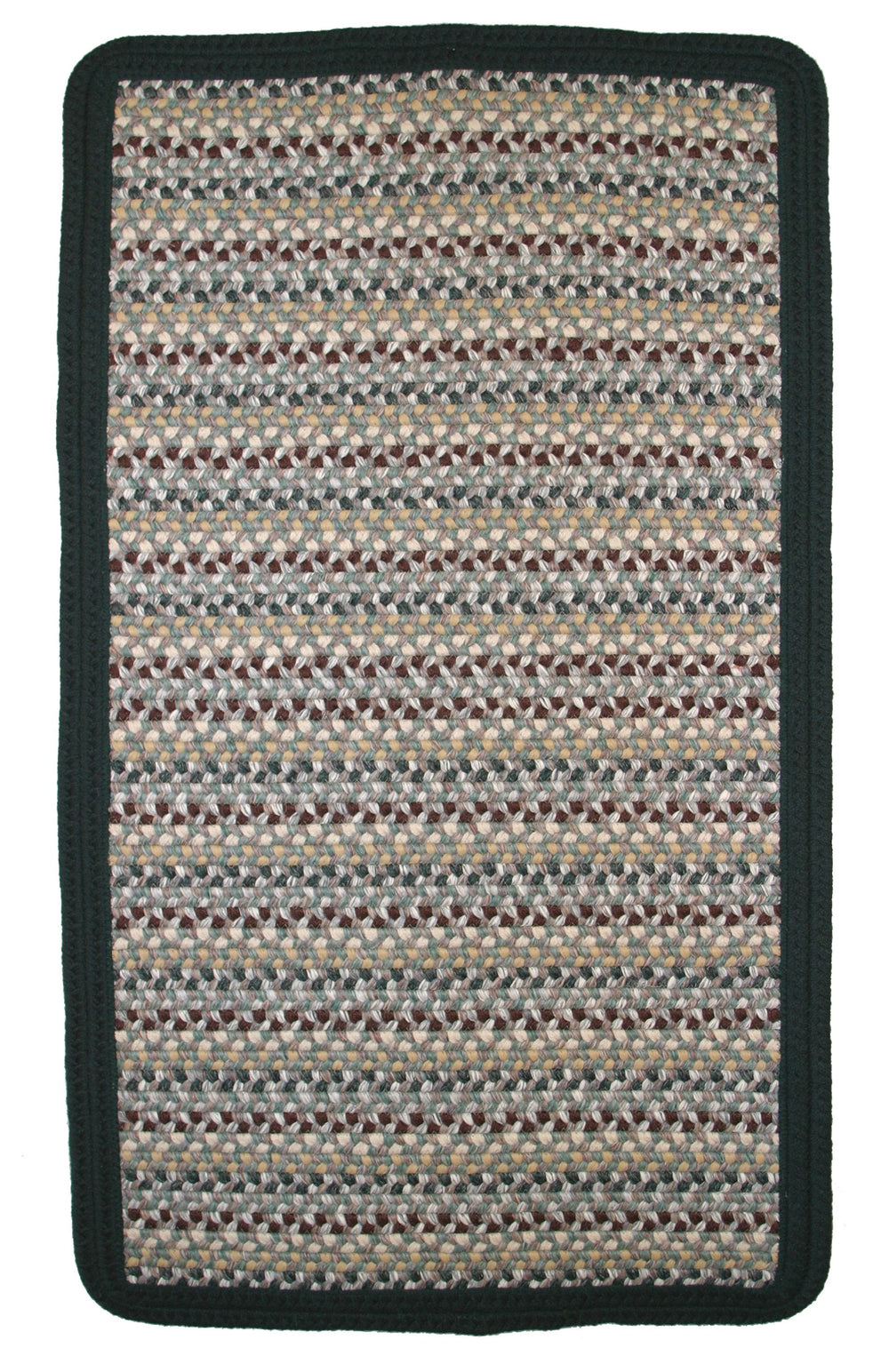 Thorndike Mills Green Mountain Balsam Fir Green Area Rug