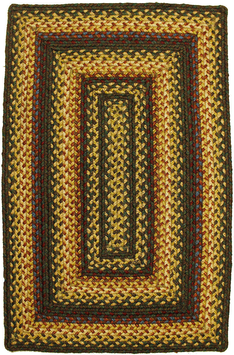 Homespice Decor Jute Braided Magnolia Area Rug