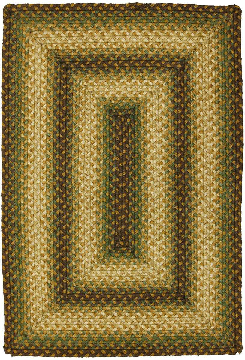 Homespice Decor Jute Braided Southern Oak Area Rug