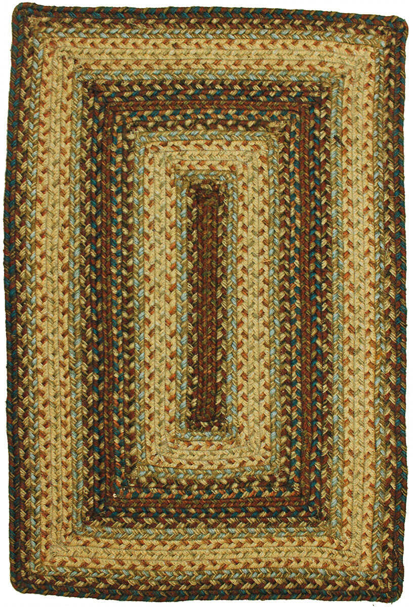 Homespice Decor Jute Braided Trinity Area Rug