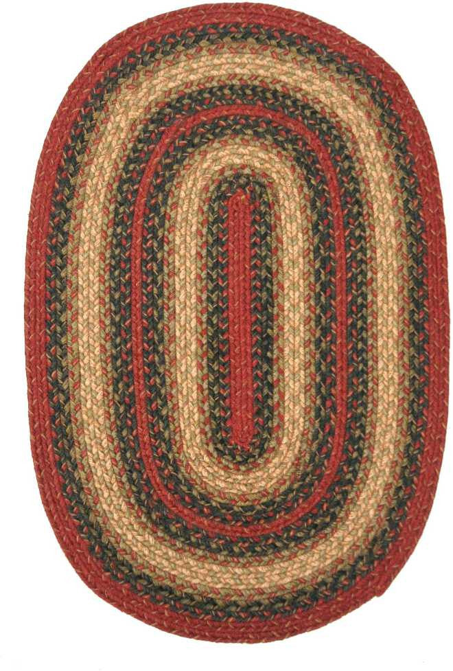 Homespice Decor Jute Braided Vancouver Area Rug