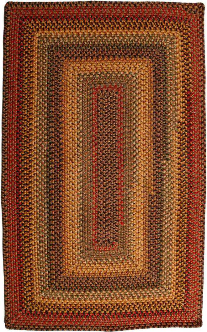 Homespice Decor Wool Braided Budapest Area Rug