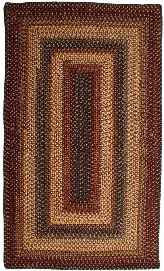Homespice Decor Wool Braided Cambridge Area Rug