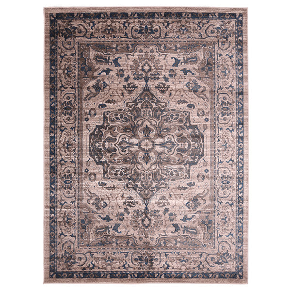 "Liberty Oriental Rugs Island Machine Made Beige Area Rug (4'11"" x 7'8"" Rectangle)"