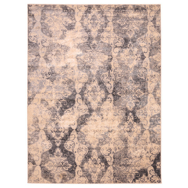 "Liberty Oriental Rugs Island Machine Made Cream Area Rug (4'11"" x 7'8"" Rectangle)"