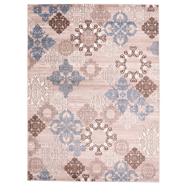 "Liberty Oriental Rugs Island Machine Made L. Beige Area Rug (3'3"" x 4'11"" Rectangle)"
