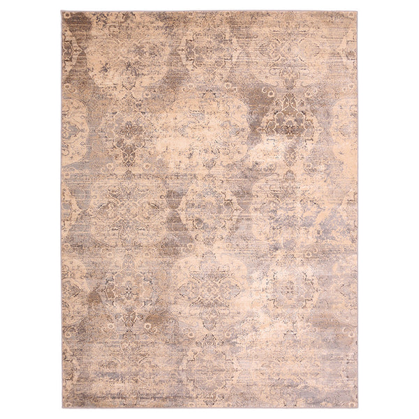 "Liberty Oriental Rugs Island Machine Made L. Grey Area Rug (4'11"" x 7'8"" Rectangle)"