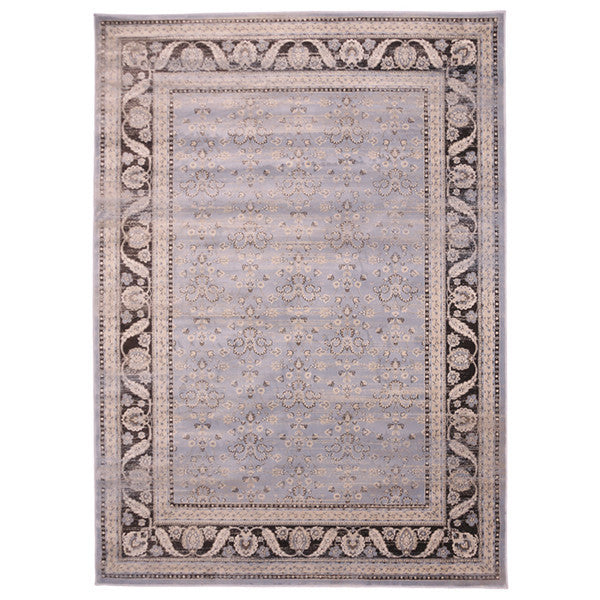 "Liberty Oriental Rugs Jas Machine Made L. Blue Area Rug (4'11"" x 7'8"" Rectangle)"
