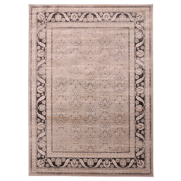 "Liberty Oriental Rugs Jas Machine Made L. Grey Area Rug (3'3"" x 4'11"" Rectangle)"
