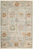 "Suzani, 4x6 Gray Wool Area Rug - 4' 1"" x 6' 0"""