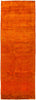 "Vibrance, Orange Wool Runner Rug - 3' 1"" x 8' 4"""