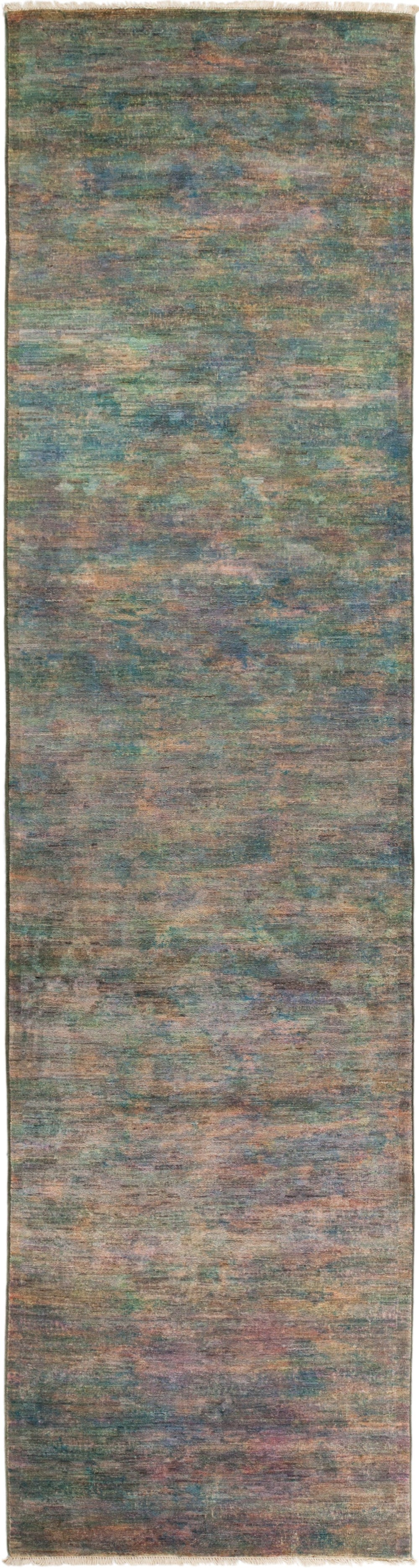 "Vibrance, Multi Wool Runner Rug - 3' 1"" x 12' 0"""