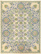 "Suzani, 9x12 Green Wool Area Rug - 10' 3"" x 12' 0"""