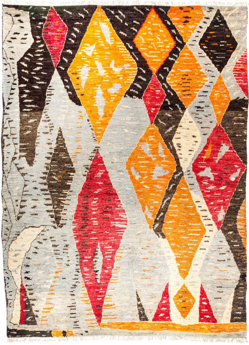 "Tullu, 9x12 Multi Wool Area Rug - 9' 0"" x 12' 4"""