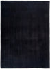 "Solids, 9x12 Black Wool Area Rug - 8' 10"" x 12' 2"""