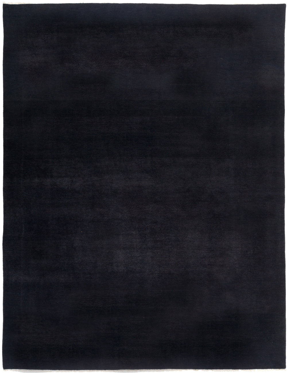 "Solids, 8x10 Black Wool Area Rug - 8' 0"" x 10' 3"""