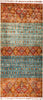 "Tribal, 8x10 Multi Wool Area Rug - 6' 10"" x 9' 9"""