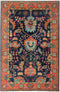 "Serapi, 6x9 Multi Wool Area Rug - 6' 2"" x 8' 10"""