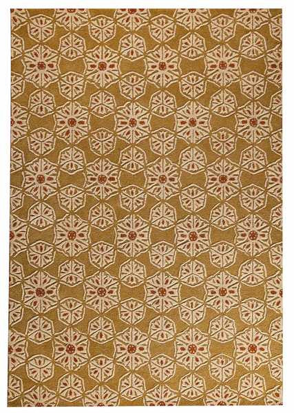 MAT Orange 10WVT Normandie Area Rug