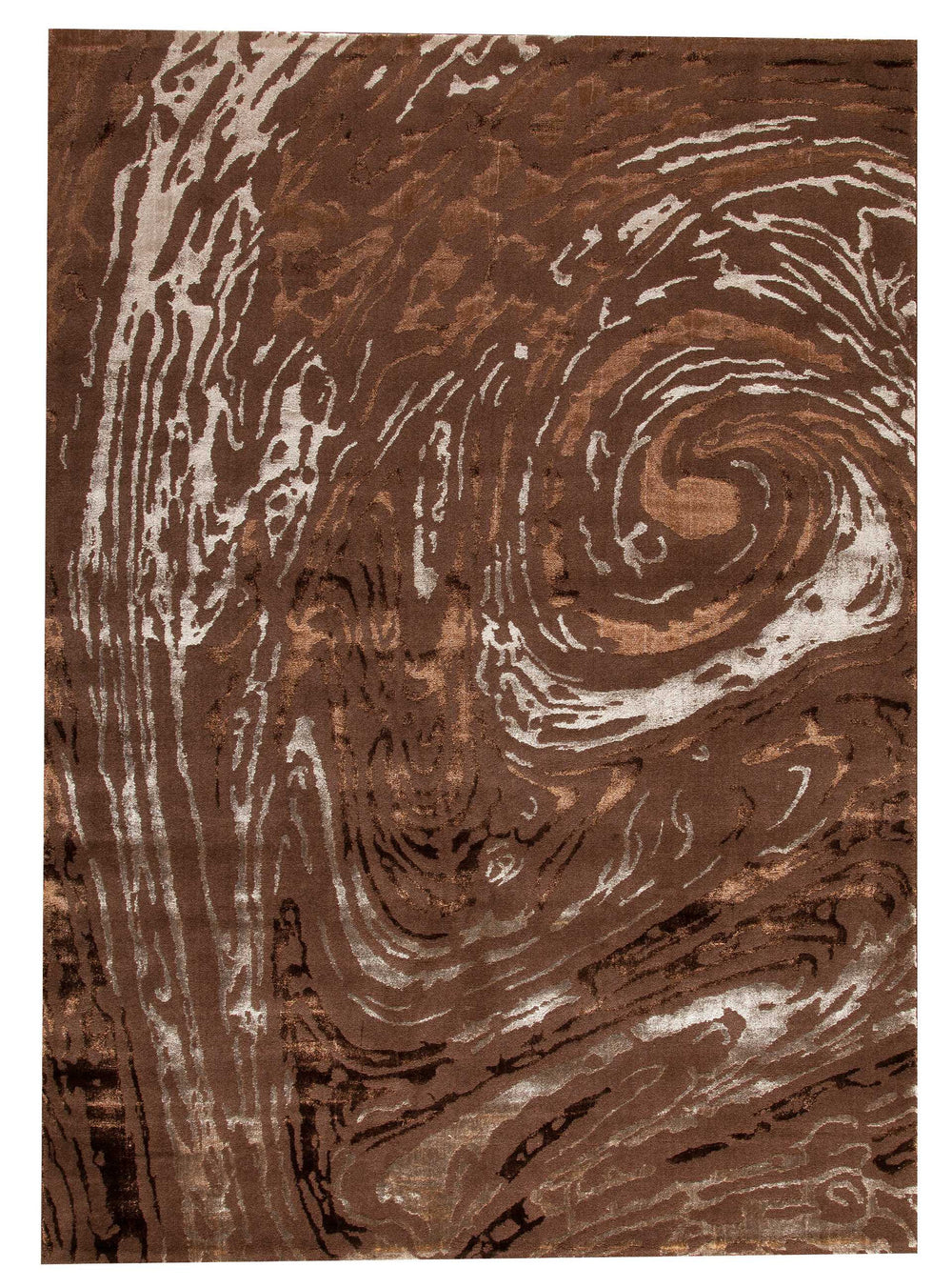 MAT Orange 18 Swirl Area Rug