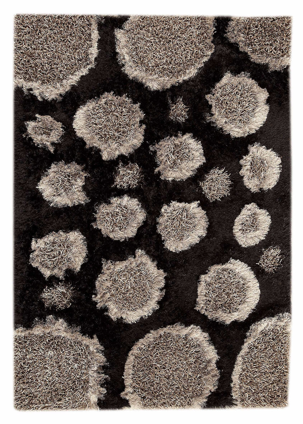 MAT Orange 6P Pebbles Area Rug