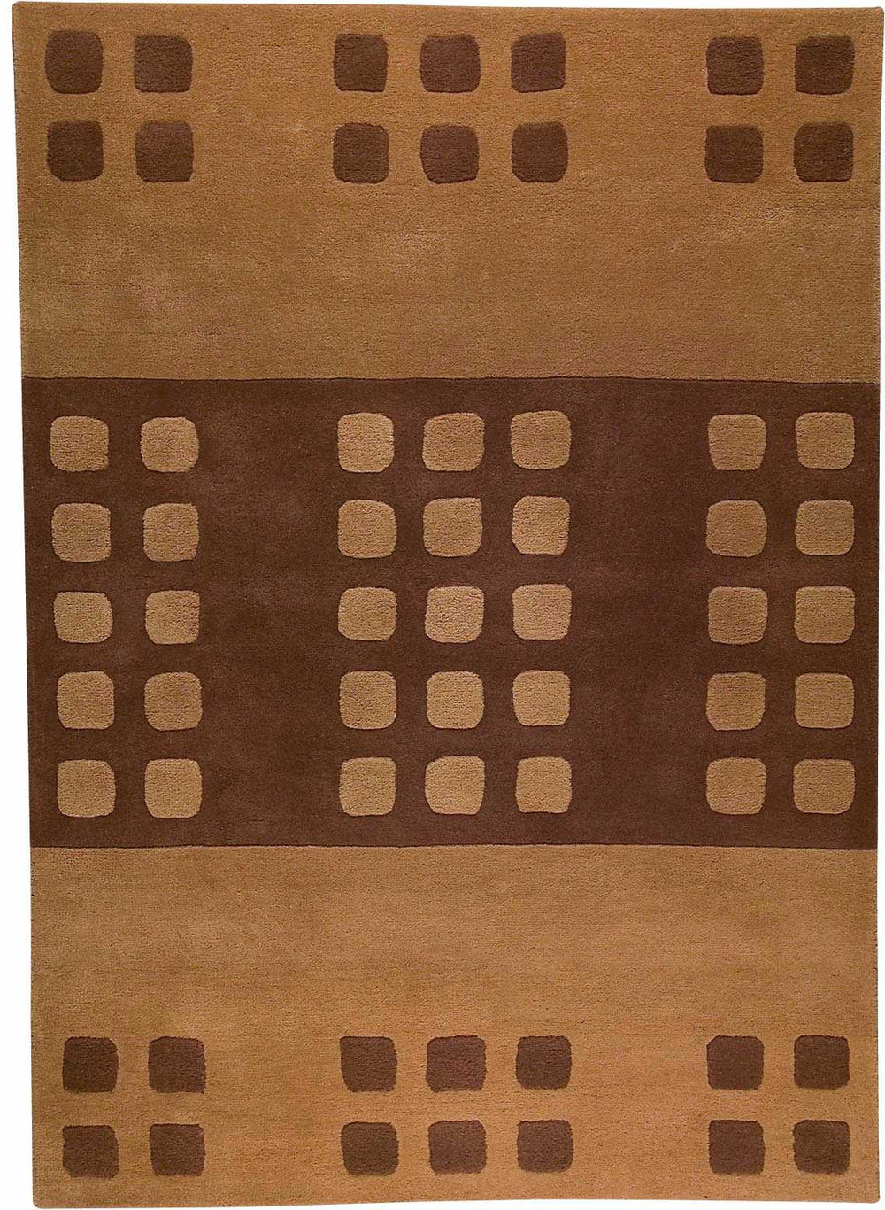 MAT The Basics 10WT Domino Area Rug
