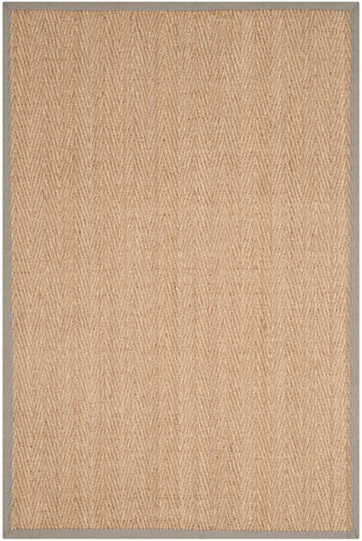 Safavieh Natural Fiber NF115P Natural / Grey Rug